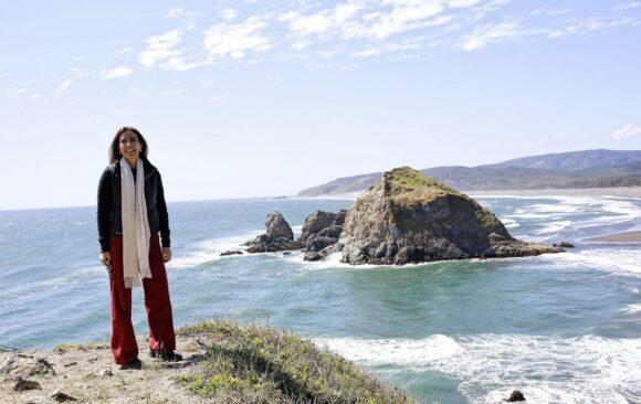 Ministra del Medio Ambiente visitó el Santuario Marino Costero Piedra del Viento